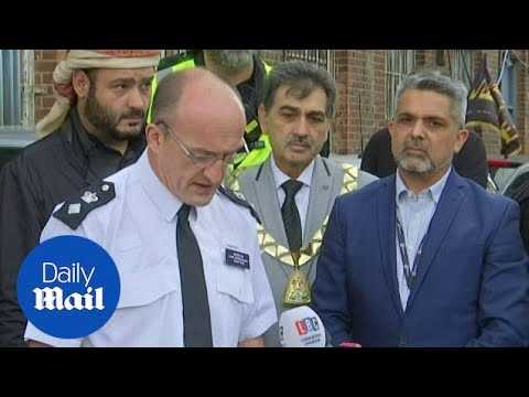 Police: 'Mosque collision treated as an Islamophobia hate crime'