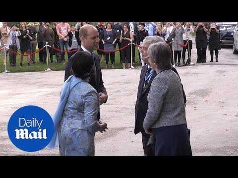 Prince William arrives at graduation ceremony in Birmingham