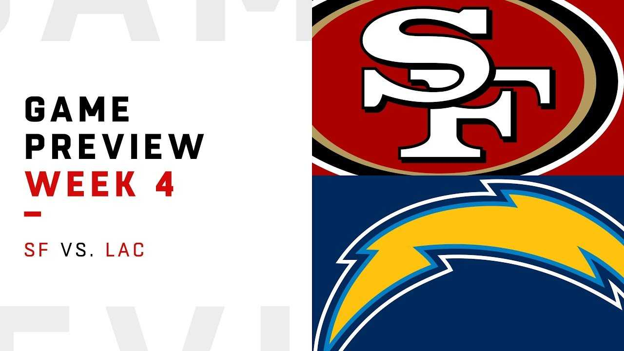 San Francisco 49ers vs. Los Angeles Chargers | Week 4 Game Preview | NFL Film Review