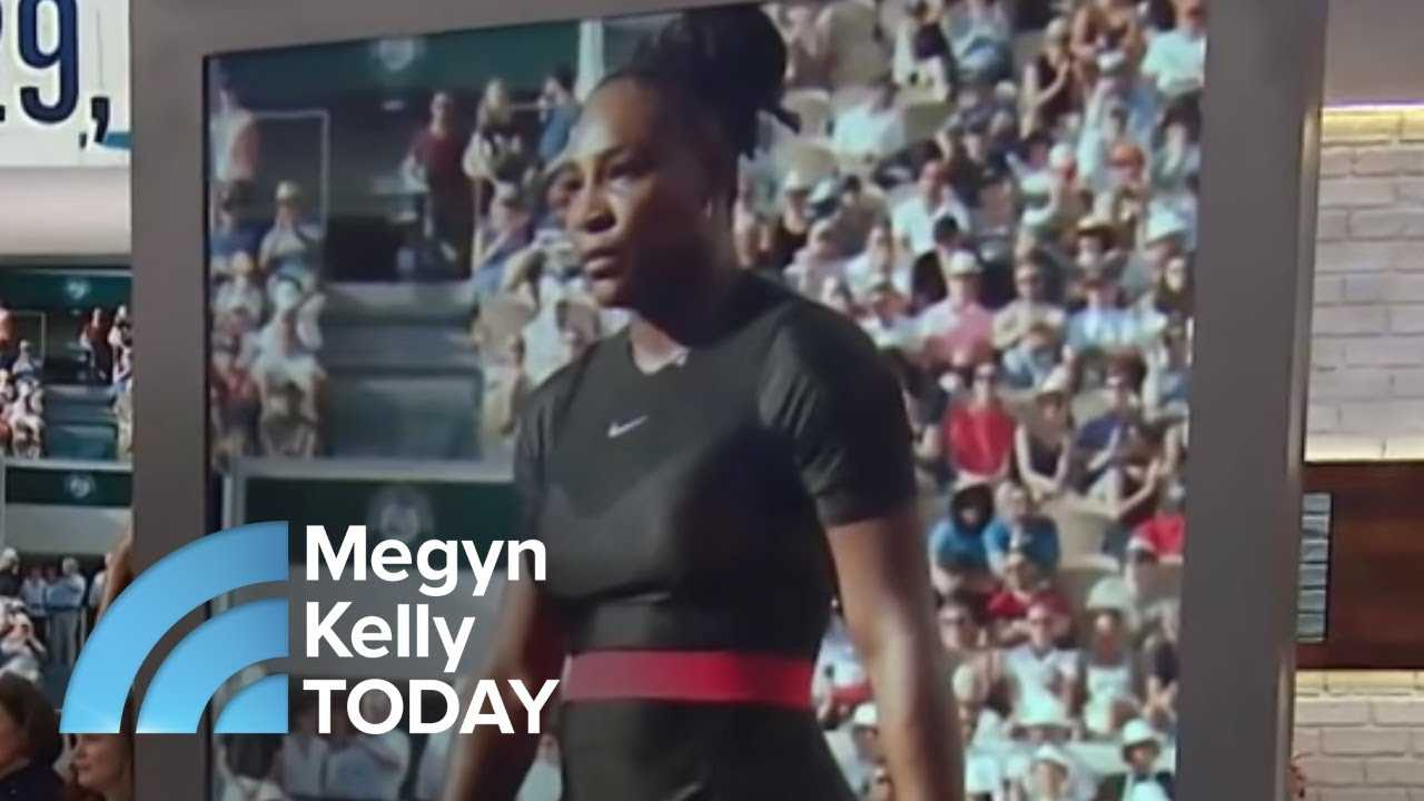Serena Williams Trades In Her Cat Suit For A Tutu At The U.S. Open | Megyn Kelly TODAY
