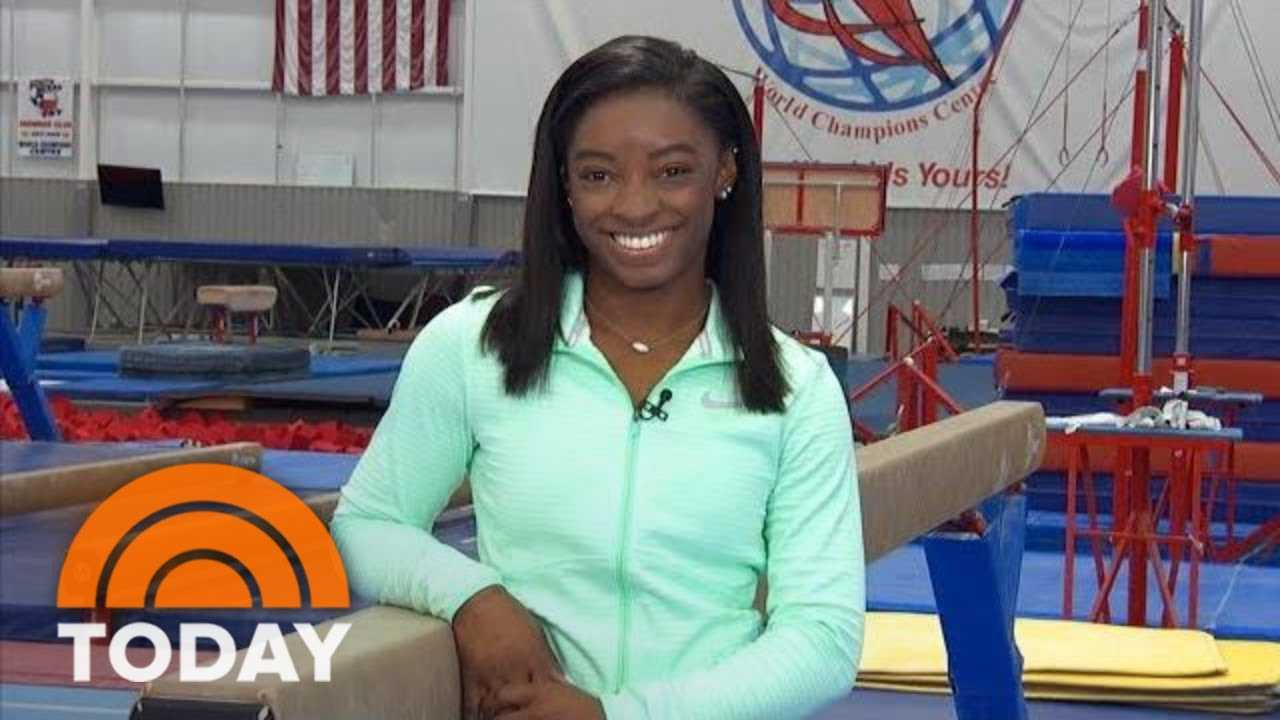Simone Biles Opens Up About Incredible Victory At Gymnastics Championships: 'I Am Human'   TODAY