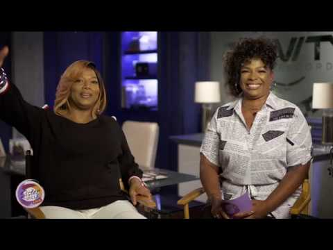 Sister Circle Live   Queen Latifah from the set of STAR   TVOne