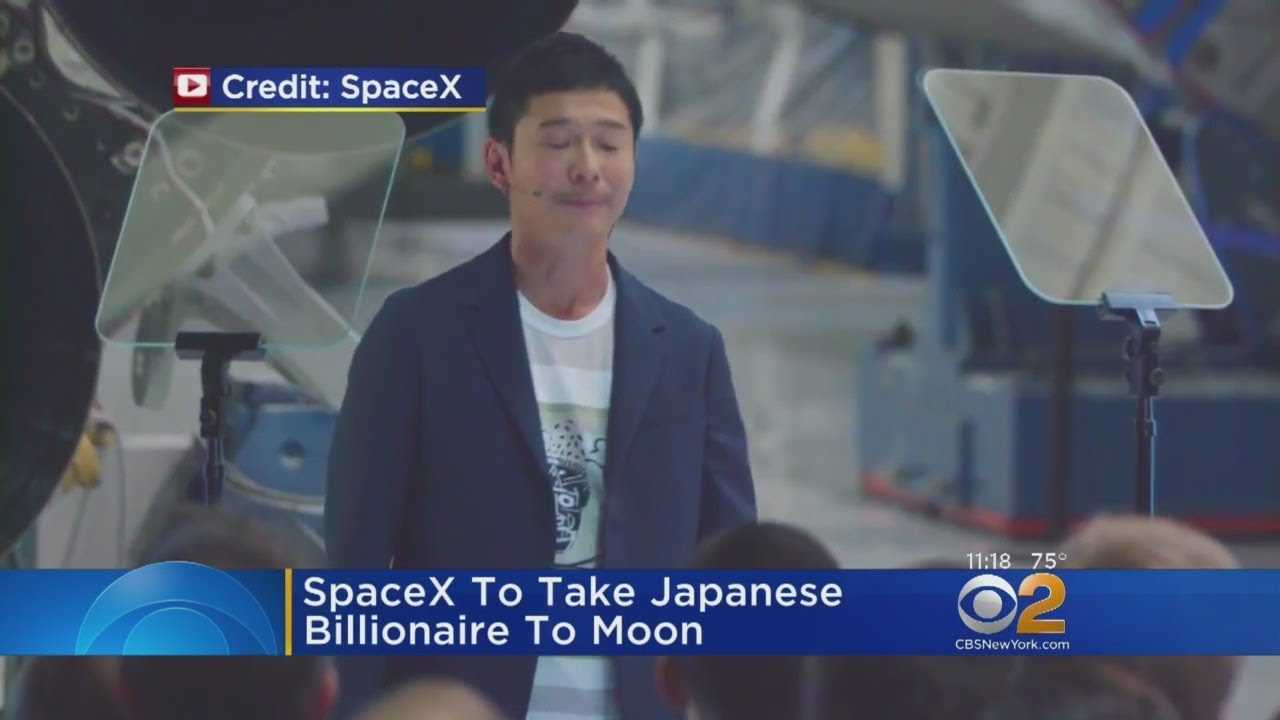 SpaceX To Take Japanese Billionaire To The Moon