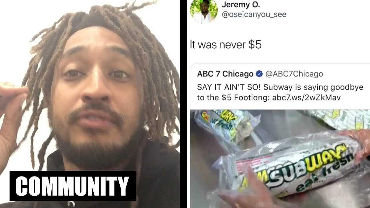 Subway's $5 Footlong Was Never $5! - Patrick Cloud   All Def Community