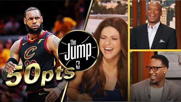 T-Mac & Byron Scott Predicted LeBron James Scoring Over 50 Points | The Jump