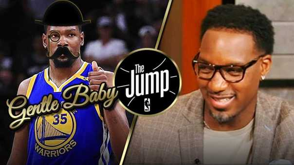 T-Mac Thinks Golden State Will 'Gently Sweep' Cavs If Andre Iguodala Can't Play | The Jump