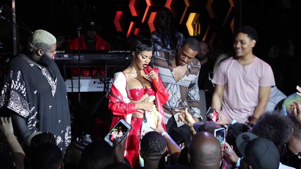 """Teyana Taylor Live Vegas """"Tempted to Touch 2018"""""""