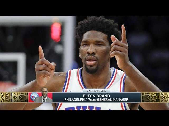 The Jim Rome Show: Elton Brand talks Joel Embiid and Ben Simmons