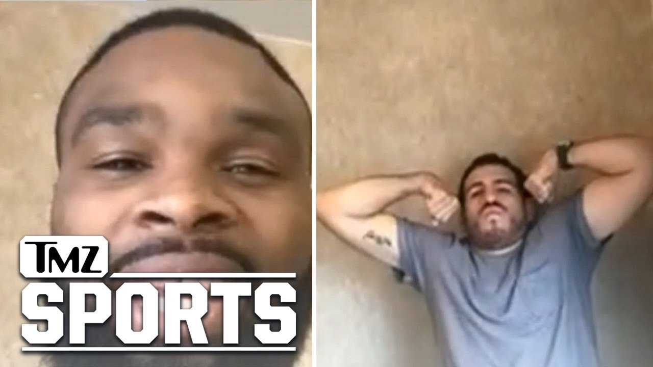 Tyron Woodley Rips Nick Diaz, 'I'll Beat Your Ass!' | TMZ Sports