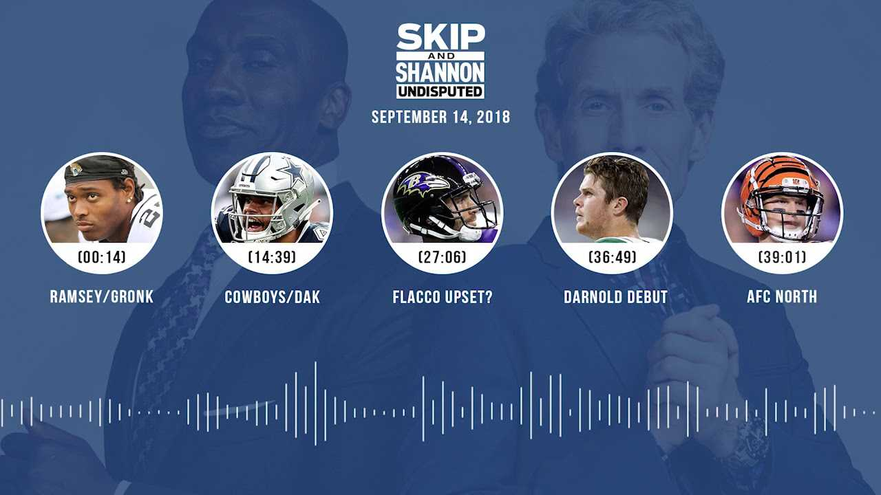 UNDISPUTED Audio Podcast (9.14.18) with Skip Bayless and Shannon Sharpe | UNDISPUTED