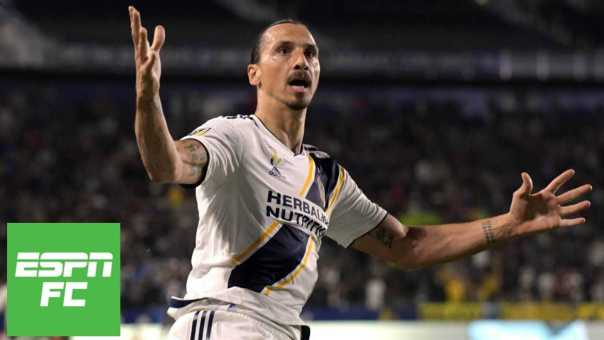 Zlatan Ibrahimovic records brace, LA Galaxy blank Vancouver Whitecaps | ESPN FC