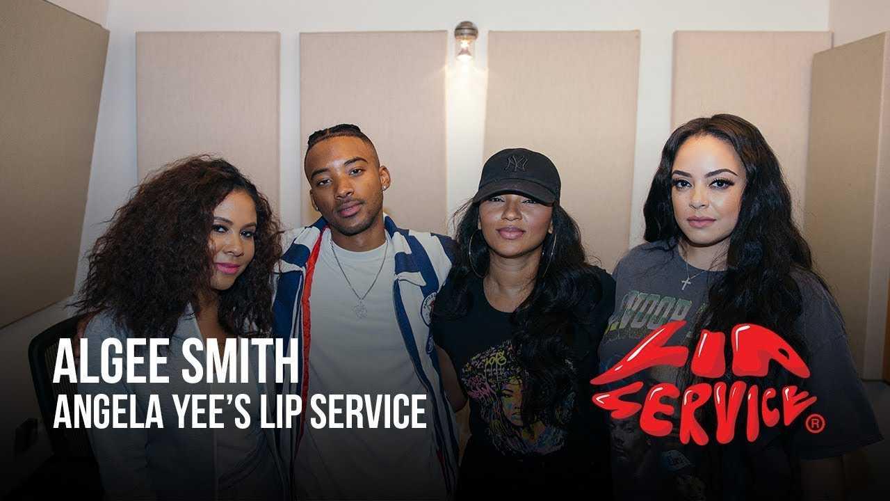 Angela Yee's Lip Service Ft. Algee Smith