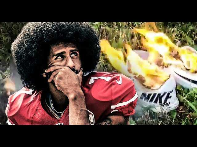 BREAKING NEWS : Thousands Of Nike's BURNED After Endorsing Colin Kaepernick!!