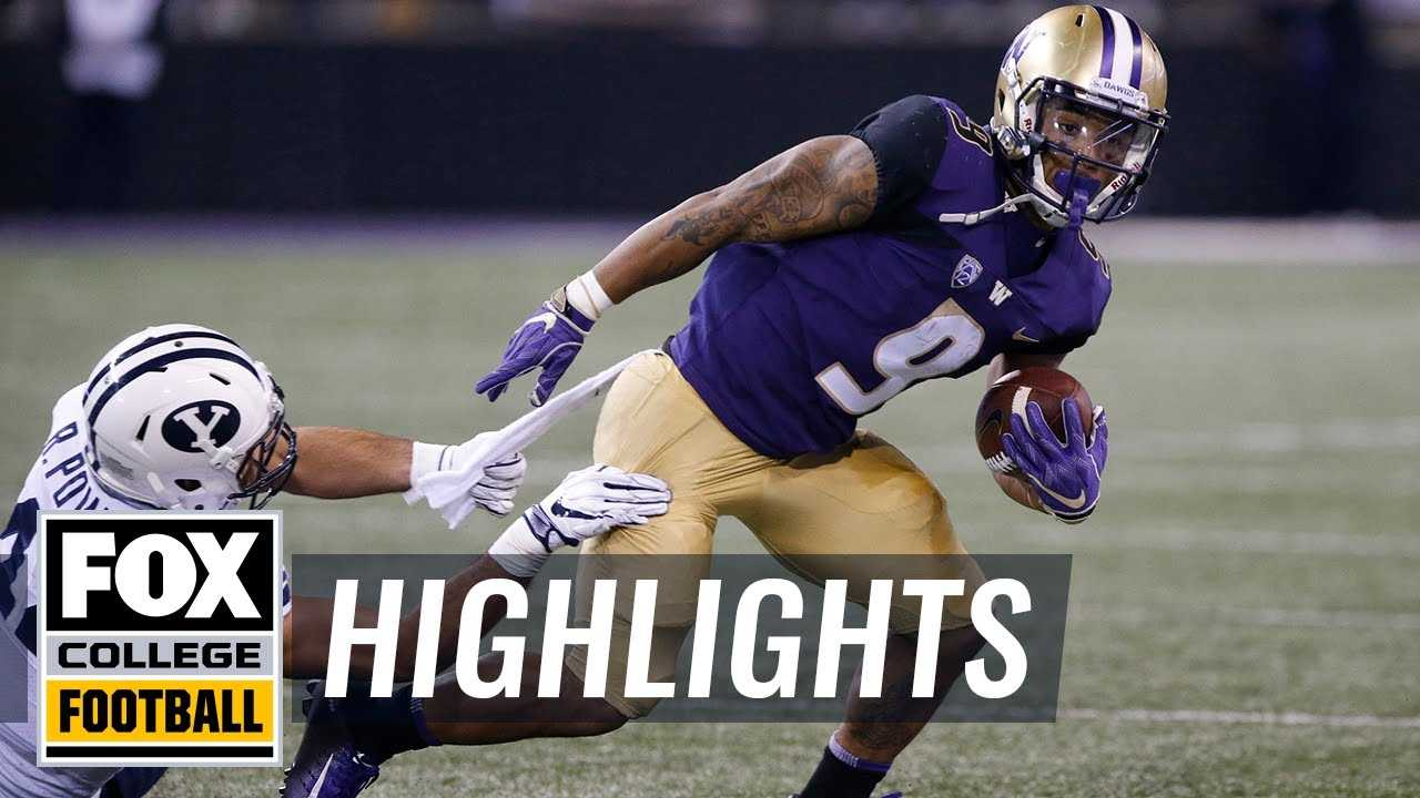 BYU vs. Washington | FOX COLLEGE FOOTBALL HIGHLIGHTS