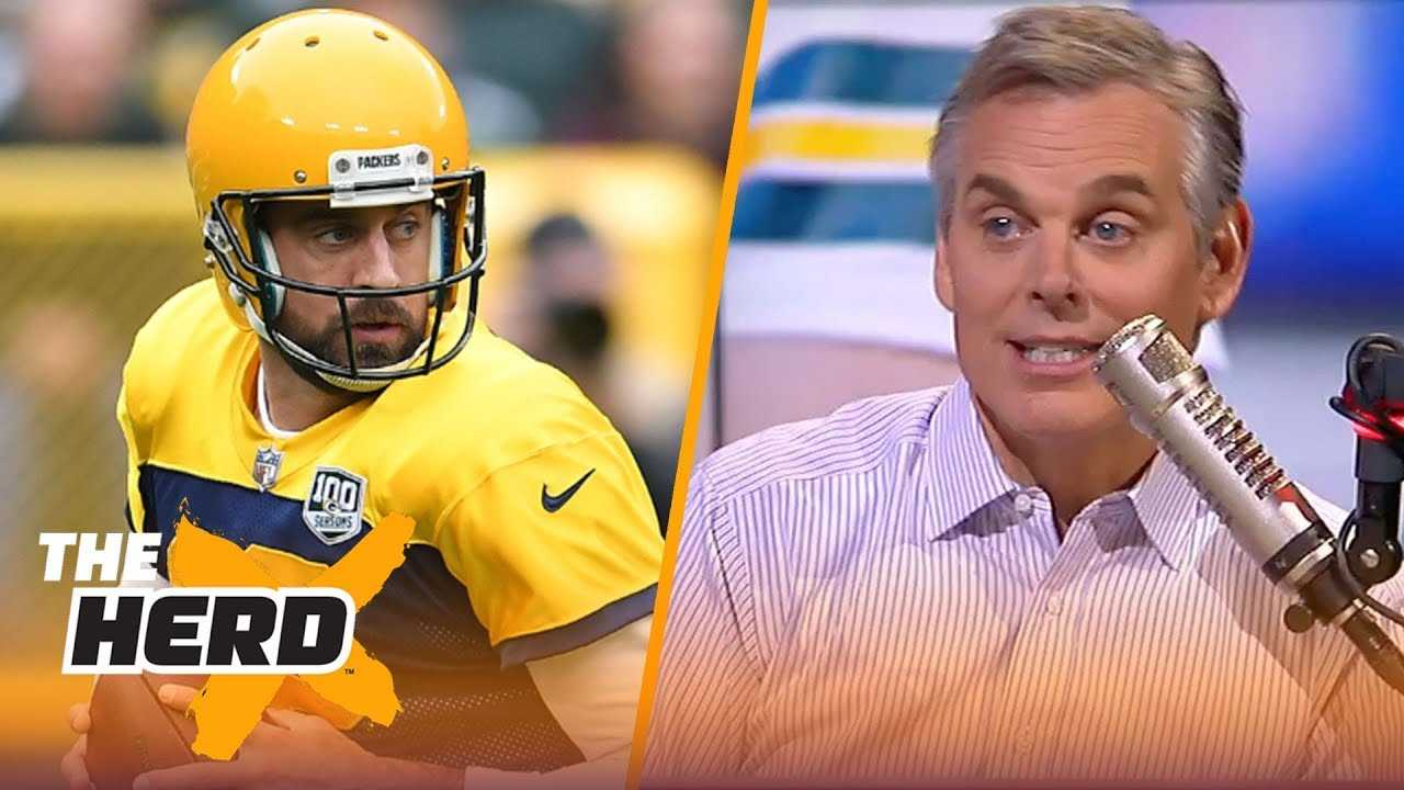 Colin Cowherd: Aaron Rodgers seemingly doesn't get along with anyone long term | NFL | THE HERD