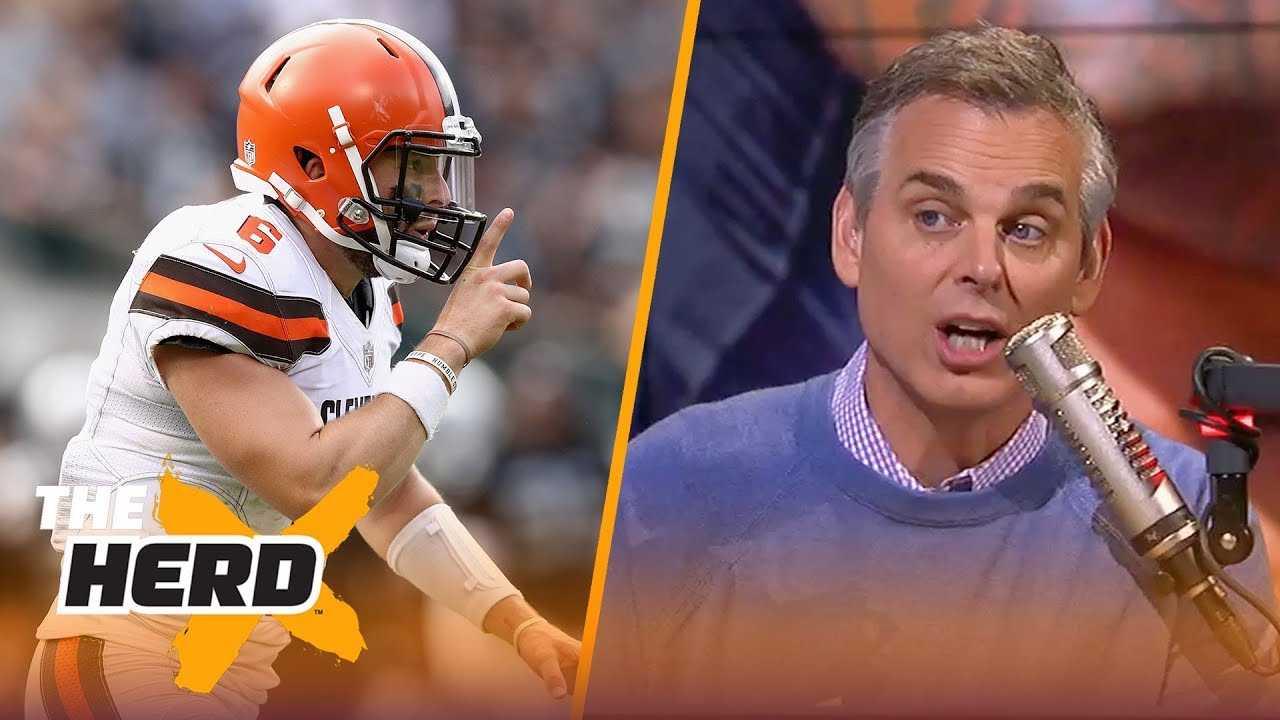 Colin Cowherd on Baker's play vs Oakland, Frank Reich's call vs Houston | NFL | THE HERD