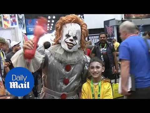 Cosplayers delight at the 2018 New York Comic Con