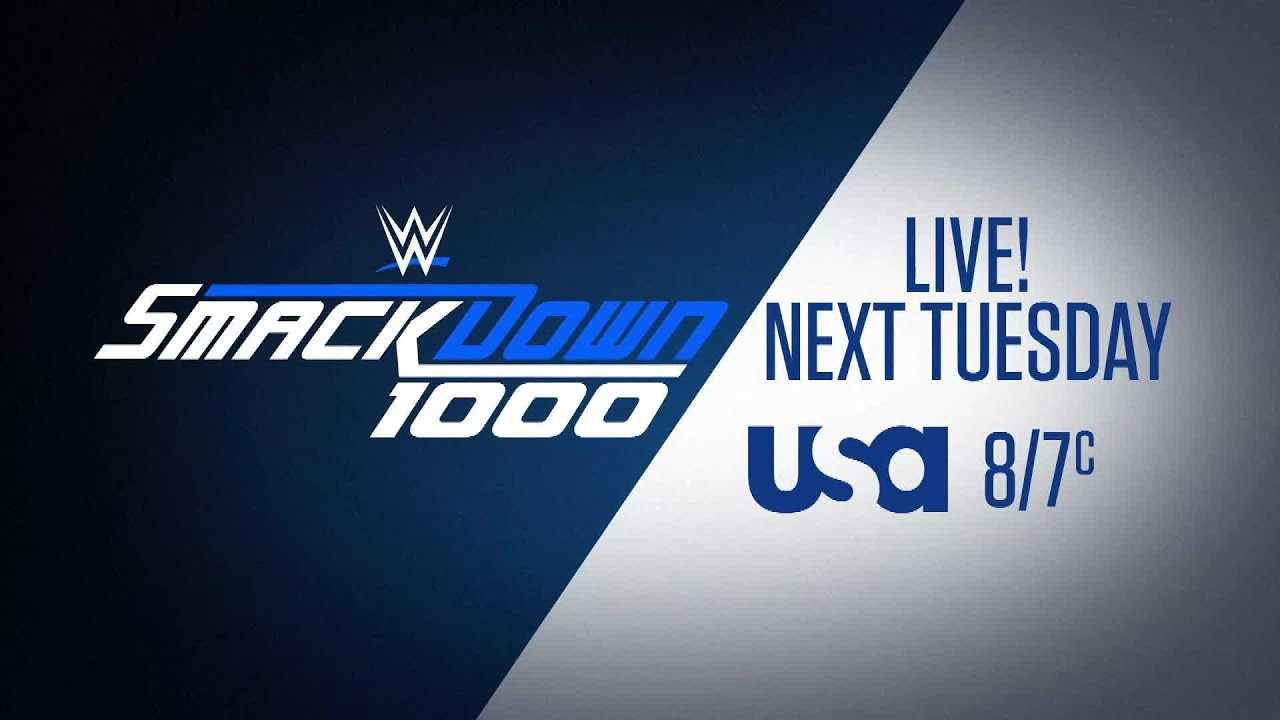 Don't miss SmackDown 1000 next Tuesday