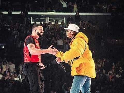 Drake Brings Out Chris Brown at Staples Center Concert