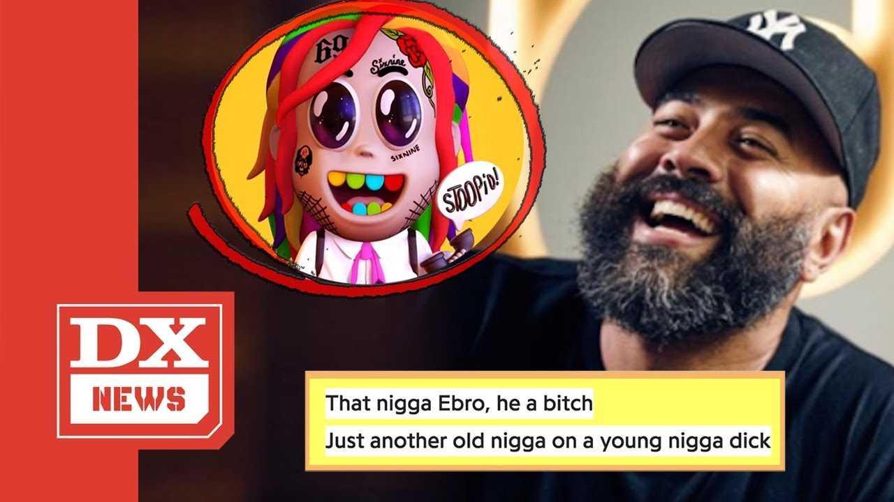 """Ebro Responds To Tekashi 6ix9ine """"Stoopid"""" Diss With His Own Freestyle Rap"""