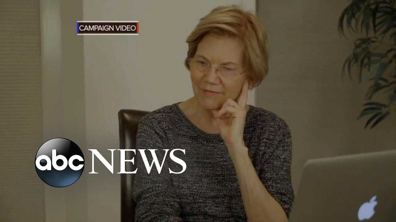 Elizabeth Warren reveals proof of Native American ancestry
