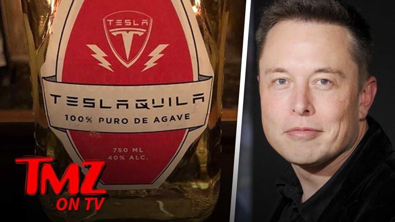 Elon Musk Is Making A Tesla Tequila! | TMZ TV