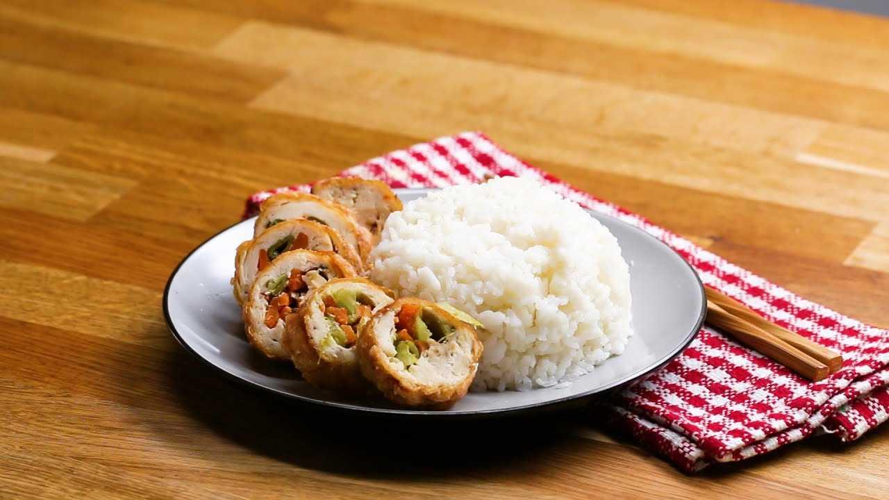 General Tso Chicken Roll Up