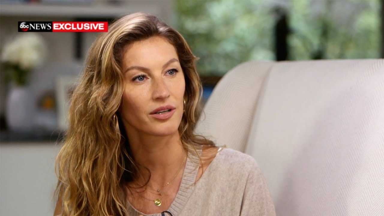 Gisele Bundchen opens up about hitting 'rock bottom'