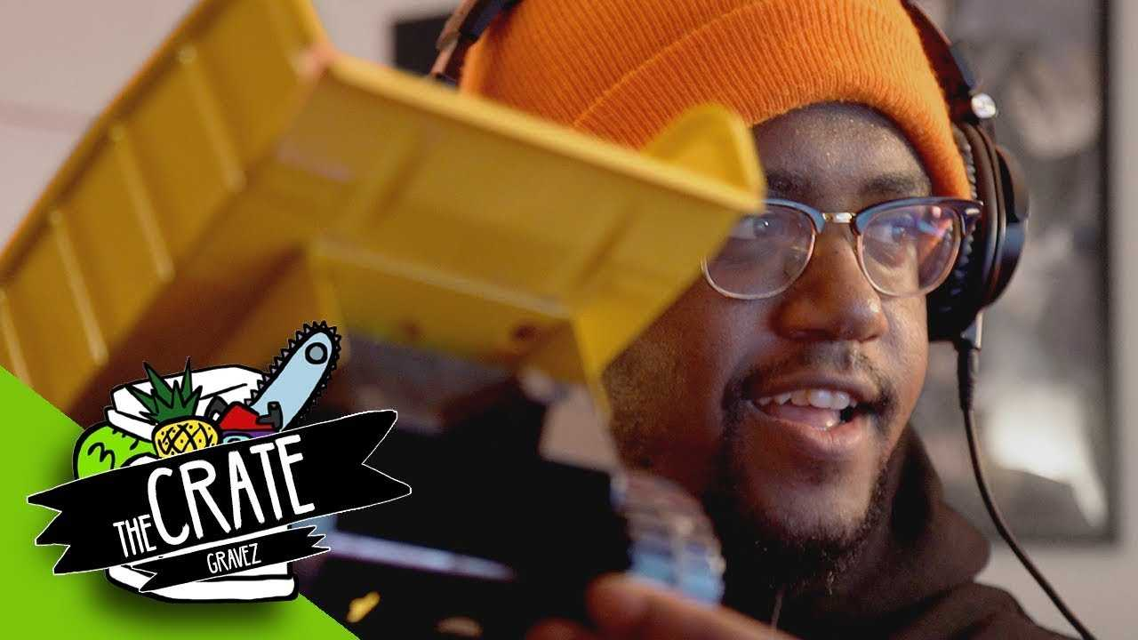 Gravez Makes A Beat On The Spot (Teaser) | The Crate