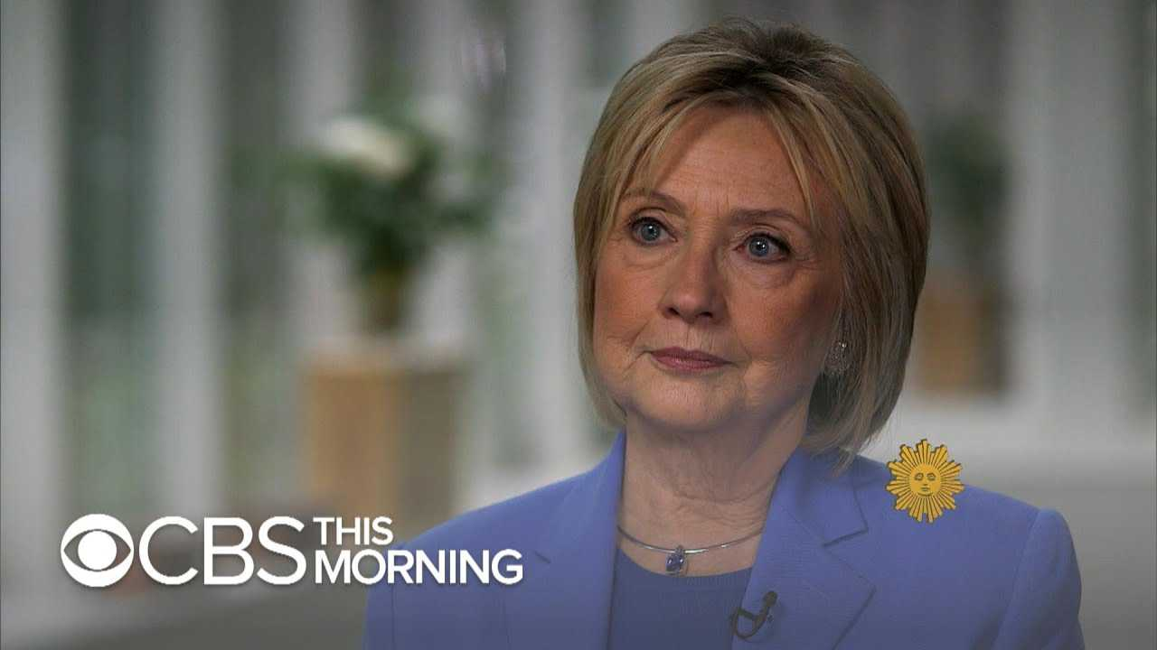 Hillary Clinton says husband did not have to resign after Lewinsky scandal