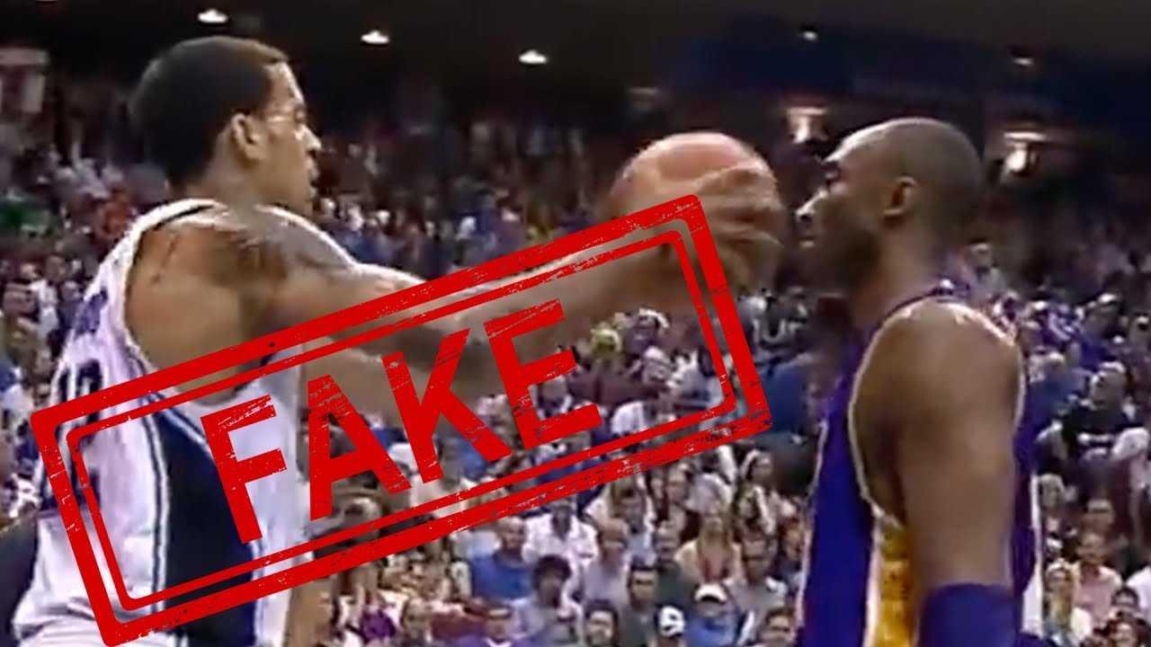 Infamous Kobe Bryant Not Flinching vs Matt Barnes Video Is A LIE!