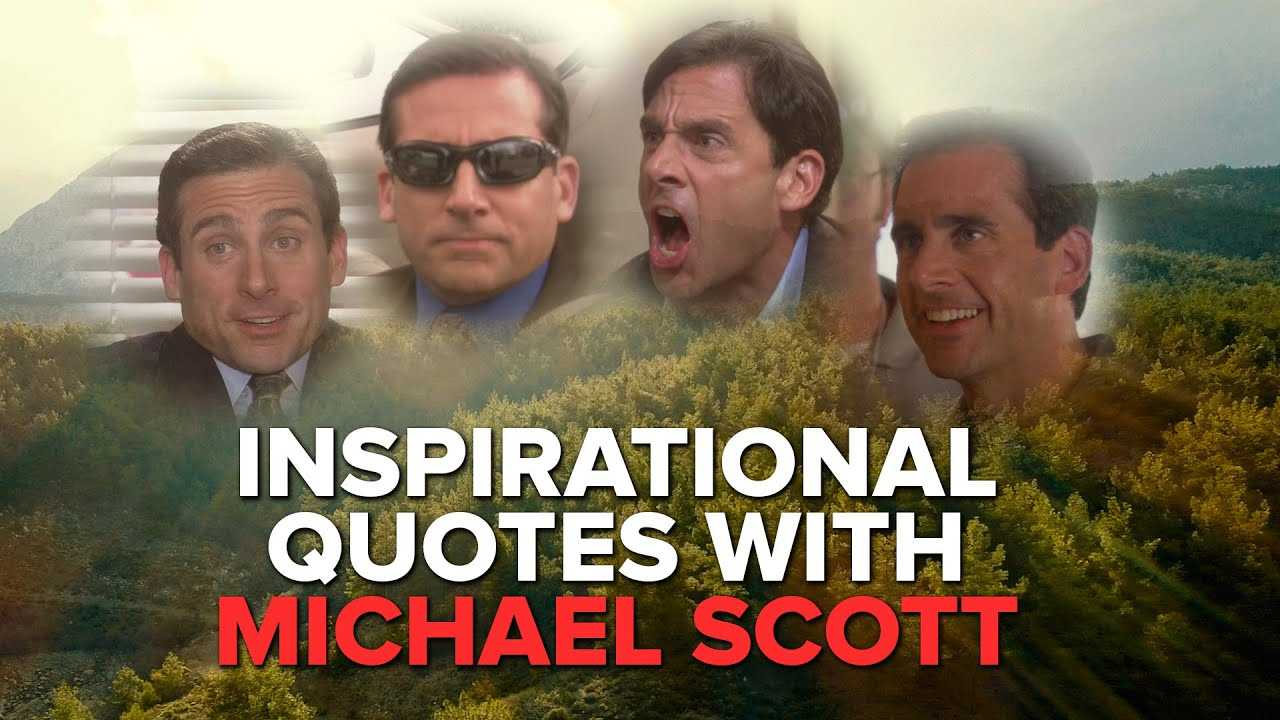 Inspirational Quotes With Michael Scott