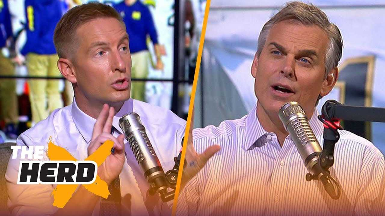 Joel Klatt fully believes Notre Dame is a serious contender for the playoffs | CFB | THE HERD