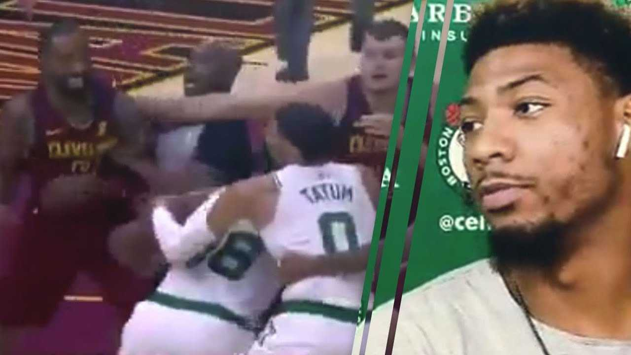 JR Smith Hilariously TROLLS Marcus Smart After Cavs vs Celtics FIGHT!