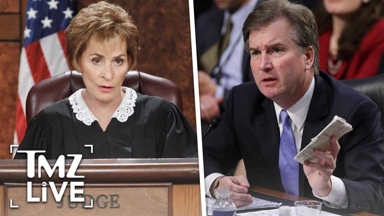 Judge Judy Gets Candid About Brett Kavanaugh | TMZ Live