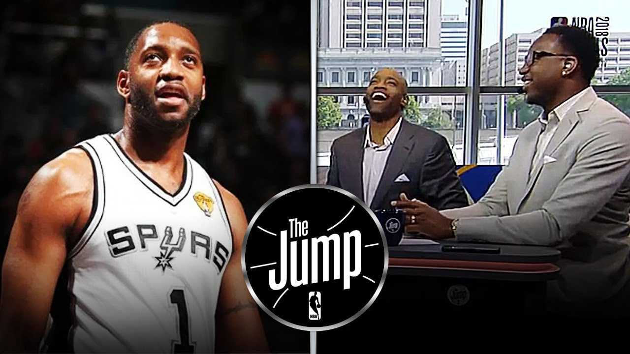 Jump Crew Messing With Tracy McGrady About His Limited Playing Time With Spurs | The Jump