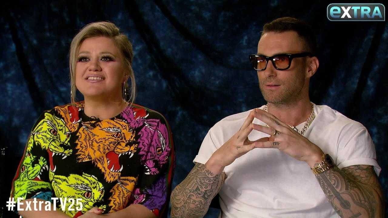 Kelly Clarkson Reveals Epic Nickname for Adam Levine & Blake Shelton