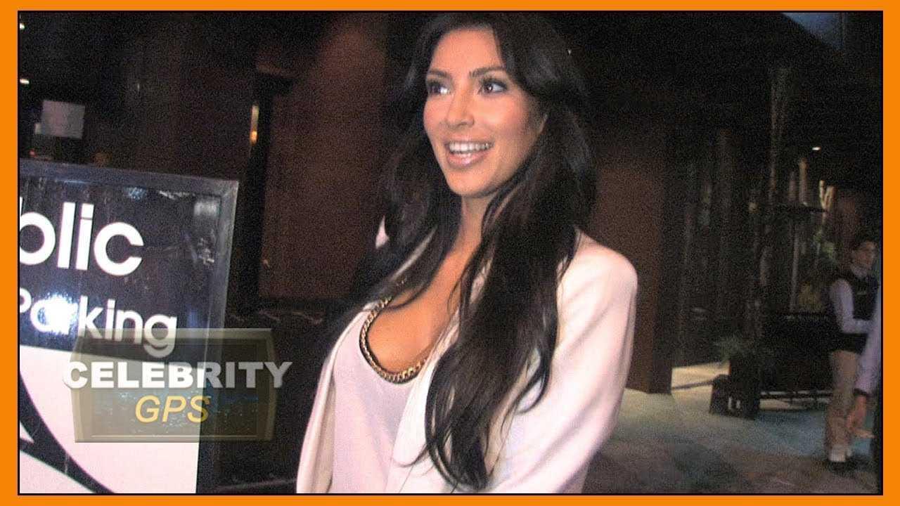 Kim Kardashian returns to the White House - Hollywood TV