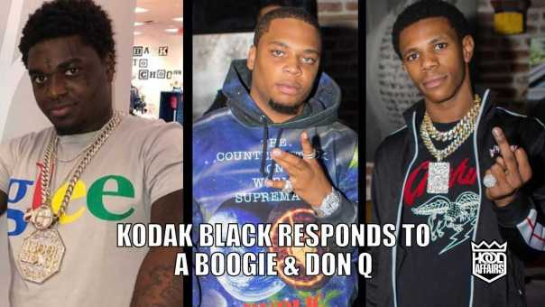 KODAK BLACK EXPLAINS THE A BOOGIE AND DON Q BEEF