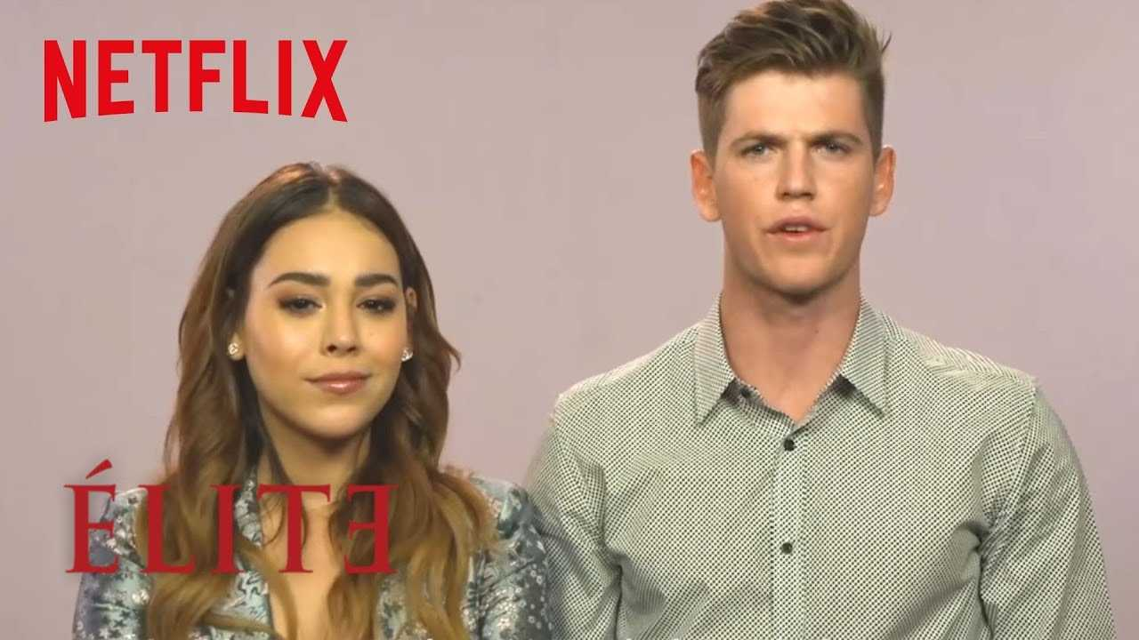 Learn Spanish with Danna Paola and Miguel Bernardeau from Elite | Elite | Netflix