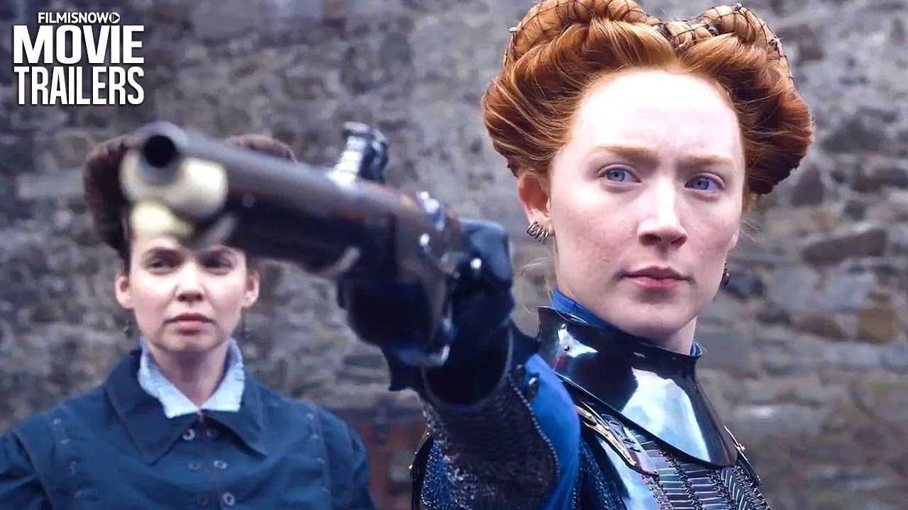 MARY QUEEN OF SCOTS Int'l Trailer NEW (2018) - Saoirse Ronan, Margot Robbie Movie