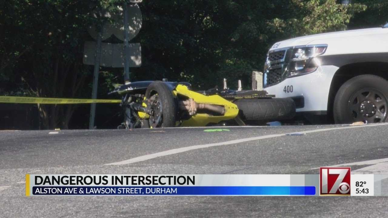 Motorcyclist dead in collision with pickup truck near NCCU, police say