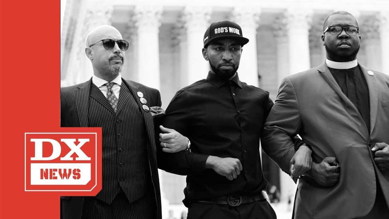 Mysonne Arrested For Protesting Brett Kavanaugh's Supreme Court Confirmation