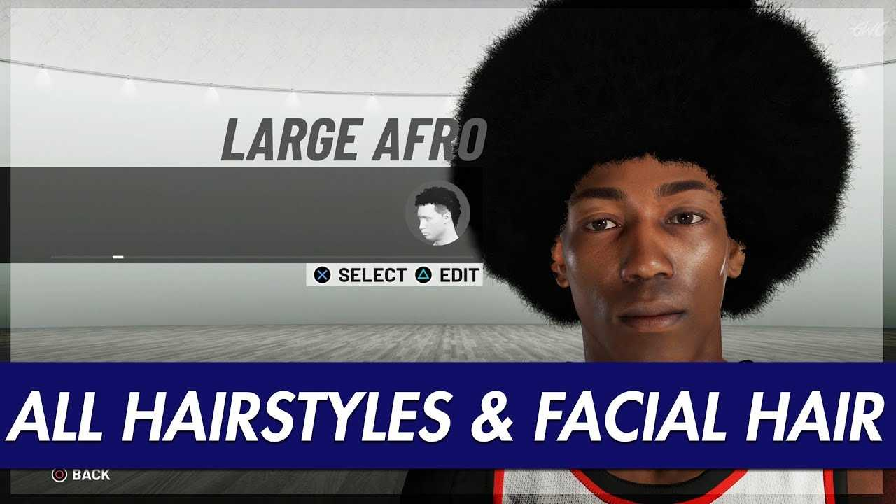 NBA 2K19 - ALL HAIRSTYLES, FACIAL HAIR, PATTERNS IN THE GAME!!