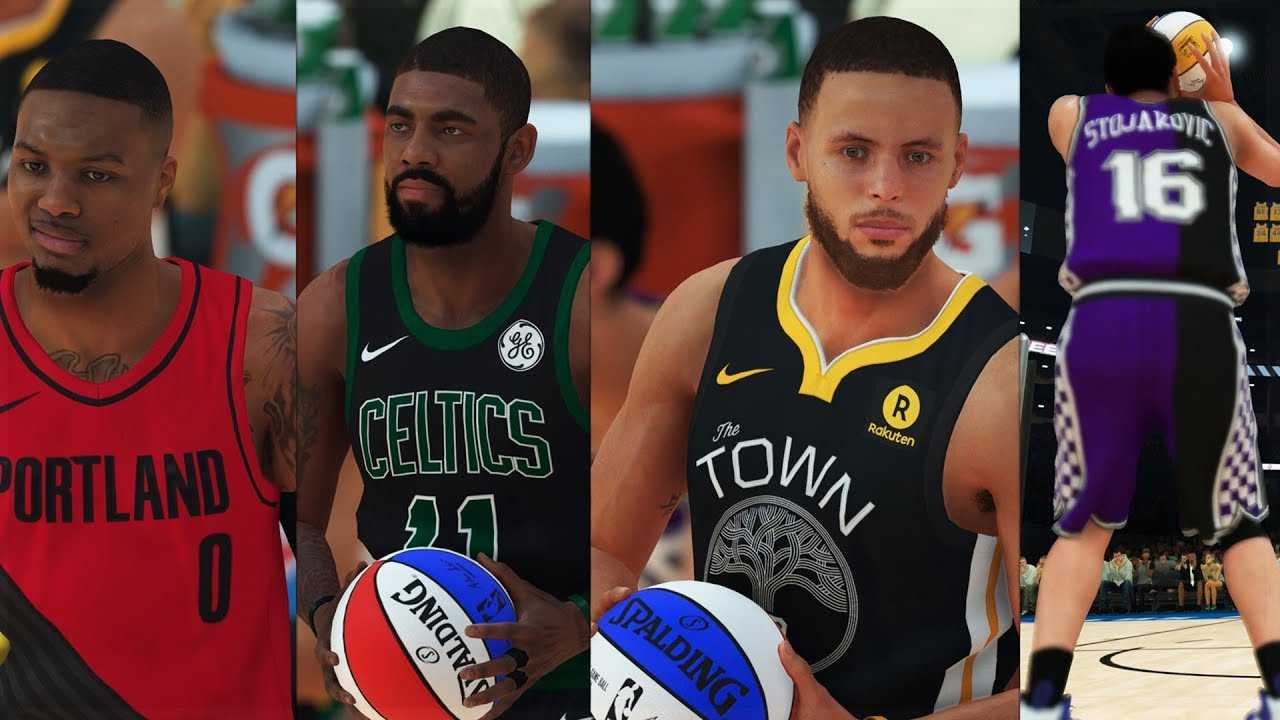 NBA 2K19 - EPIC 3 Point Contest feat. Steph Curry, Peja, Pierce, Kyrie, Lillard & Love!
