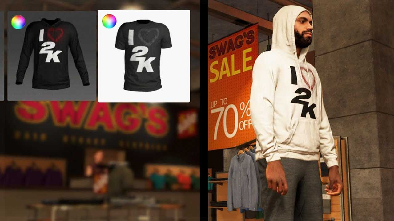 NBA 2K19 - MyPlayer Store feat. Hoodies, Shirts, Pants, Accessories & MORE!!!