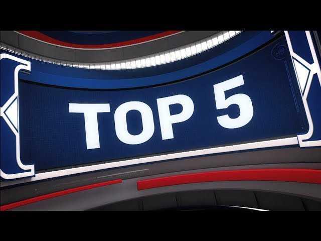 NBA Top 5 Plays of the Night   October 7, 2018