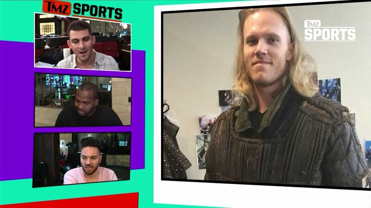 Noah Syndergaard Shaves Hair for TV Role
