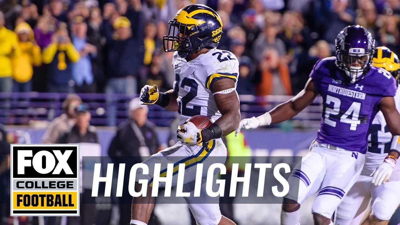 Northwestern vs. Michigan | FOX COLLEGE FOOTBALL HIGHLIGHTS