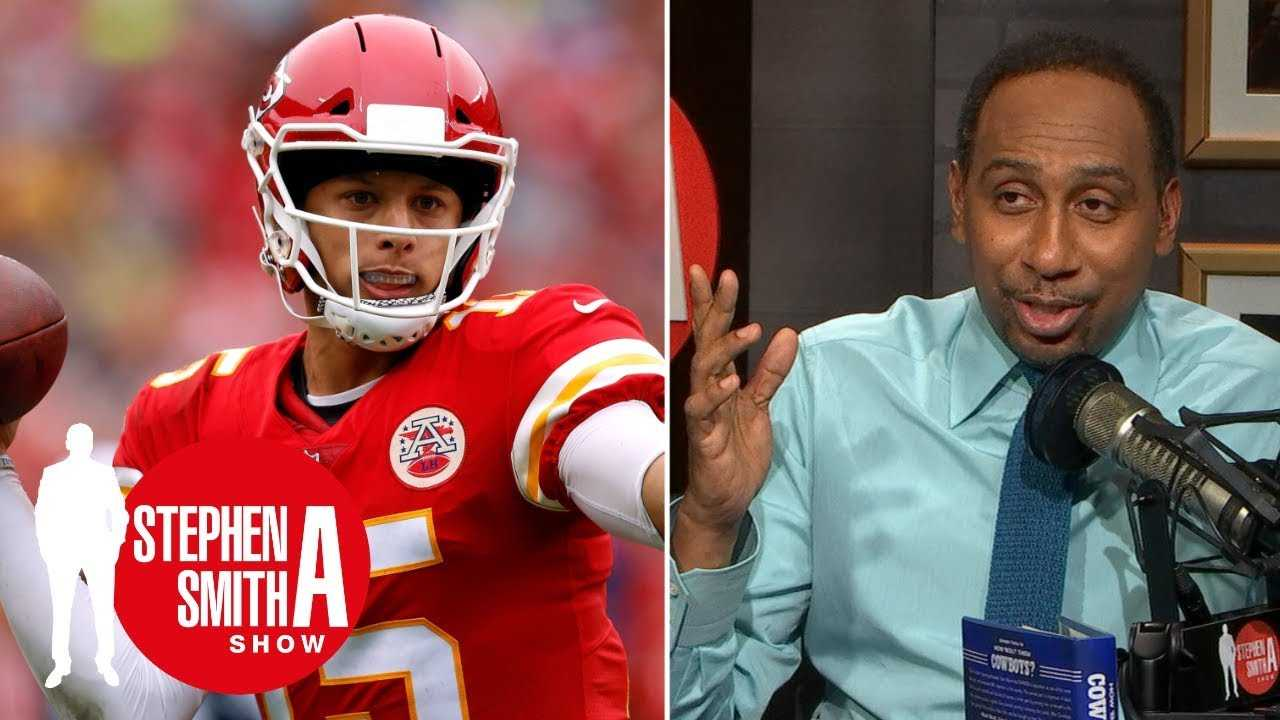 Patrick Mahomes: Spread QBs can succeed in NFL | Stephen A. Smith Show